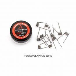 Rofcape fused clapton prebuilt coils
