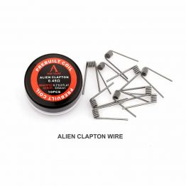 Rofvape Alien Clapton prebuilt coils
