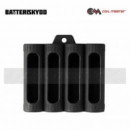 Coil Master Quadruple Battery Silicone Case Black