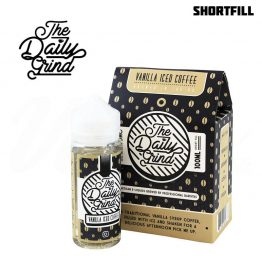 The Daily Grind Shortfill 100 ml Vanilla Iced COffee