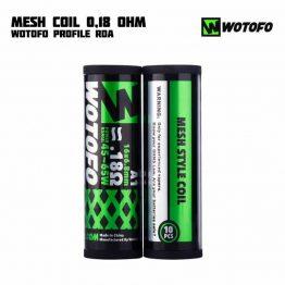 Wotofo Mesh Coil 0.18 ohm Main