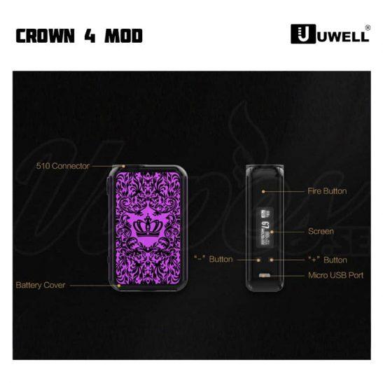 Uwell Crown 4 Sverige