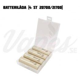 Batterilåda 4 st 20700/21700
