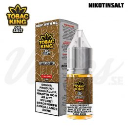 Tobac King on Salt - Butterscotch