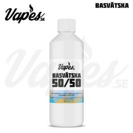 Vapes.se Basvätska 50 VG 50 PG Nikotinfri 500 ML