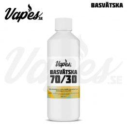 Vapes.se Basvätska 70 VG 30 PG Nikotinfri 500 ML