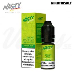 Nasty Juice - Green Ape (10 ml, 20 mg Nikotinsalt)