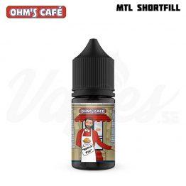 Ohms Cafe apple pie mtl vape juice